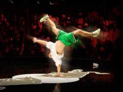 break, dance, hop