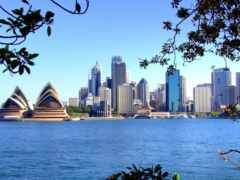 город, австралия, siden