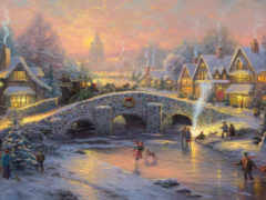 рождества, дух, sledge