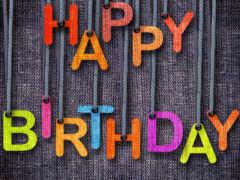 рождения, день, днем