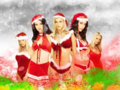 weihnachten, hintergrundbild, desktop