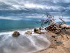 пляж, hdr, charlie