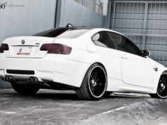bmw, white, forged