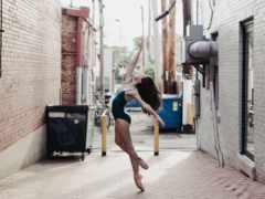 балерины, объективе, улицах