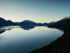 озеро, new, гора