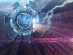 фантастика, портал, spaceship