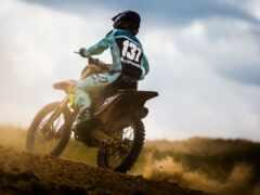 мотоцикл, спорт, мотокросс