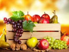 фрукты, производить, canvas