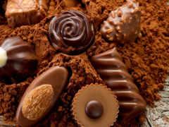 еда, sweets, chocolate