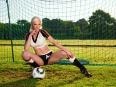 девушка, wayland, футбол
