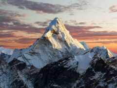 гора, nepal, everest
