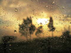 drop, дождь