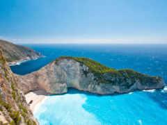 greek, пляж, ионических