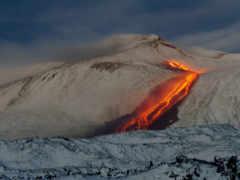 etna, mount, вулкан