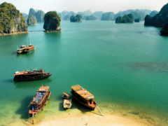 vietnam, halong, море