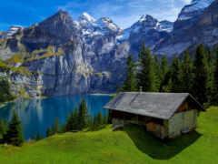 гора, house, lodge