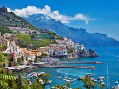 amalfi, италия Фон № 33226 разрешение 1920x1200