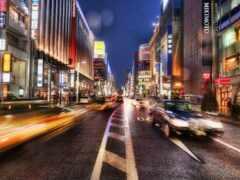 tokio, tokyo, ночь