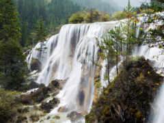 водопад, falls, water