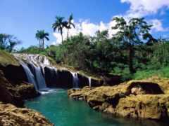 водопады, водопад, страны