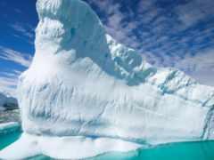 ледники, айсберги, удивительные