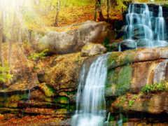 print, водопад, водопады