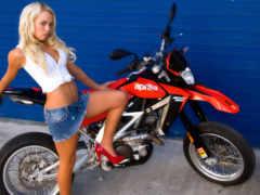 motosiklet, sexy