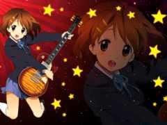 hirasawa, yui, гитары