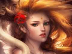 devushka, волос, золотистый