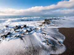 волна, ocean, пляж