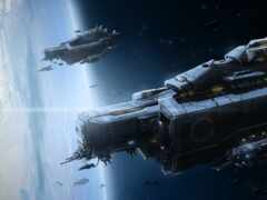 spaceship, фантастика, scus