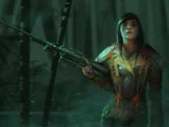 снайпер, девушка, art