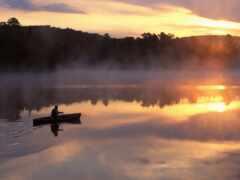лодка, озеро, казань