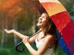 день, birth, дождь