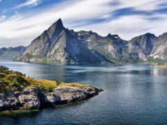 горы, house, скалы