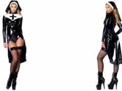 clubwear, sexy, nun