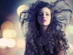 девушка, волосы, pushitsya