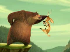 hunting, season, медведь