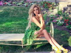 блондинка, красивых