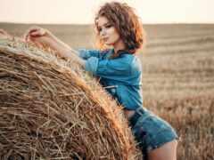 поле, трусы, модель