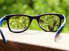 очки, контраст