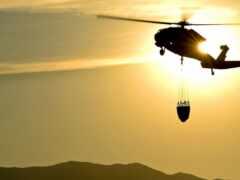 вертолет, красивый
