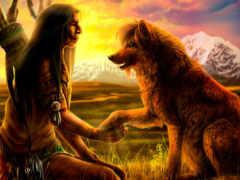собака, индеец