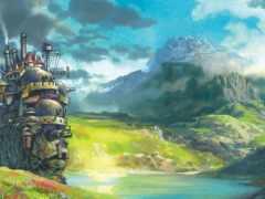 castle, выгул, anime