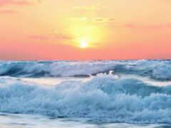 восход, ocean