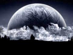 lua, negra