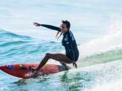 женщина, сёрфинг, спорт