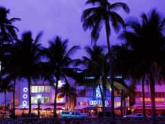miami, пляж, площадь