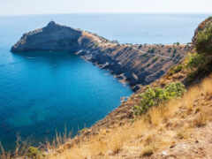 крымский, sudak, море