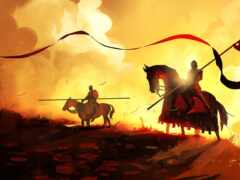 рыцарь, fantasy, майер